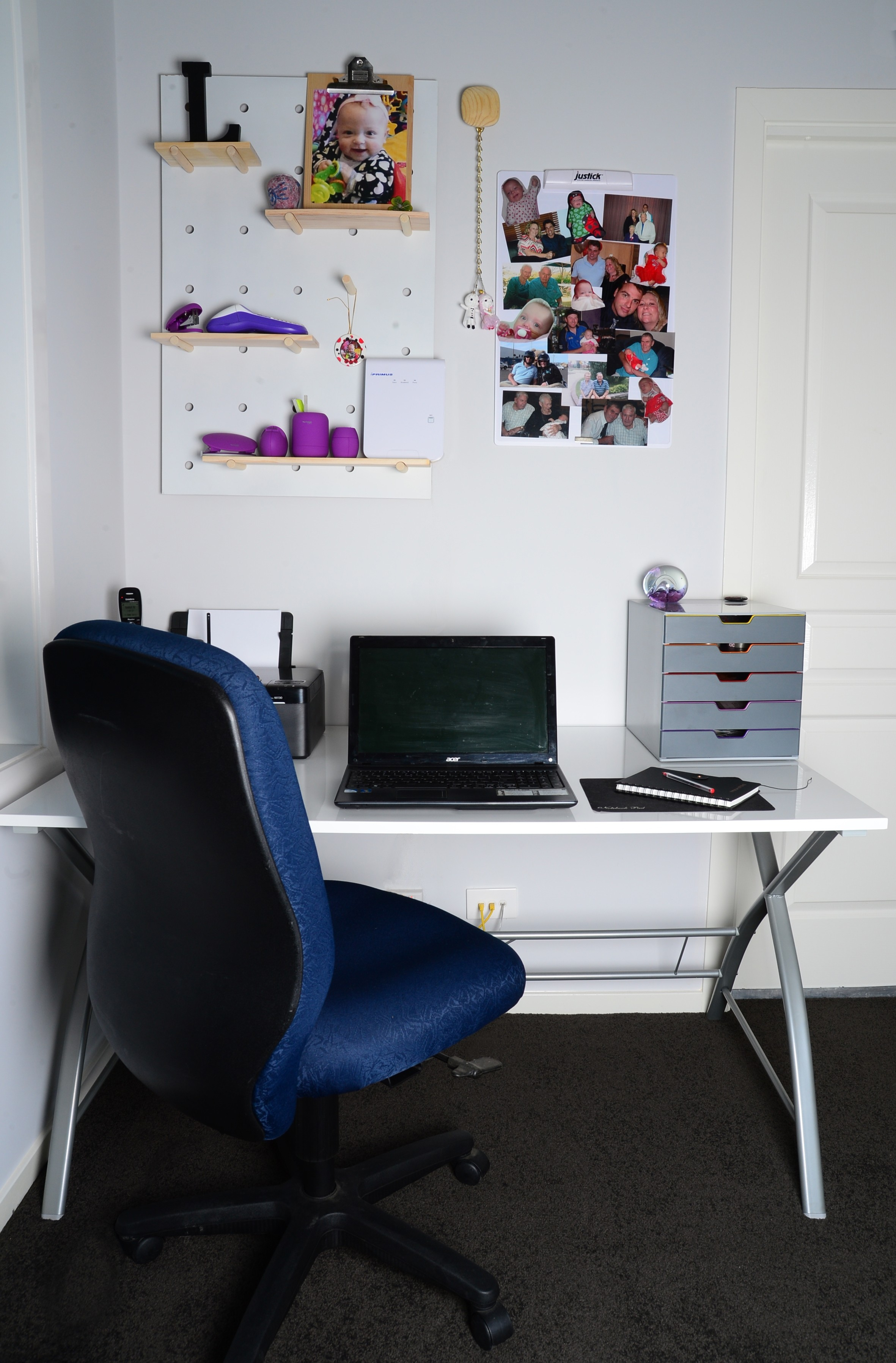 whiteboard for home office. Justick Mini Whiteboard With Clear Overlay In Home Office For
